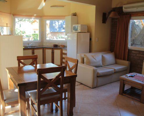Kaassh - Sala de estar - Comedor - Cocina.